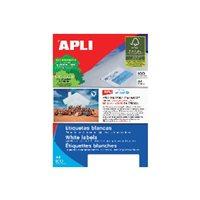 APLI Etiquetas ILC Caja 100 hojas 2700 u  70 x 30 Blancas 1271, (1 u.)