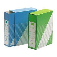 UNISYSTEM Revistero con funda Definiclas Carton 325x260x90mm. Folio Azul 1235.004.01.01, (5 u.)