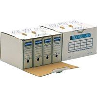 DEFINICLAS Contenedor Definiclás Para 4ud Folio 444x378x270mm Acceso lateral 96571, (25 u.)