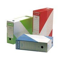 DEFINICLAS Archivo definitivo Color Folio 345x250x100 mm Azul Carton estuc. 096573, (50 u.)