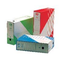 DEFINICLAS Archivador Definiclás Color Folio 345x250x100mm Rojo Fondo automático 96577, (50 u.)
