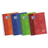 OXFORD Cuaderno 120h A4 Cuadricula 5x5 Surtido 100430279, (5 u.)