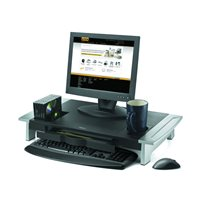 FELLOWES Soporte para monitor de hasta 21'' Premium Office Suites negro/plateado 8031001, (1 u.)