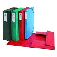 5 STAR Carpetas proyecto A4 Lomo 30 mm Roja Carton plastificado 100315-S, (1 u.)