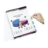 AVERY Pestañas adhesivas Juego 96 ud Blanco translucido Imprimibles 05412061, (1 u.)