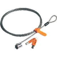 KENSINGTON Cable de seguridad con llave para portatiles MicroSaver K64020EU, (1 u.)