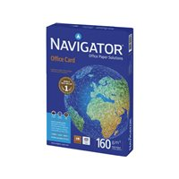 NAVIGATOR Office Card. Papel impresión Laser Color 250h 160 g. A4 0010CE, (5 u.)