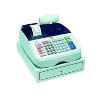 OLIVETTI Caja registradora ECR 6800 alfanumérica térmica/VFD/blanca B9850002, (1 u.)