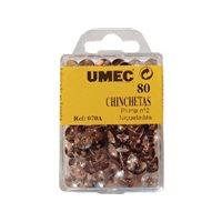 UMEC Chinchetas Niqueladas Caja 50 Ud 10 mm U100204, (20 u.)
