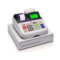 OLIVETTI Caja registradora ECR 8200S alfanumérica térmica/LCD/blanca B4393001, (1 u.)