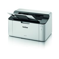 BROTHER Impresora Láser Monocromo A4/2400 x 600 ppp/20ppm/Blanca HL1110, (1 u.)