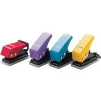 CARL Miniperforador 6 Hojas Colores surtidos 20 Ud N12, (1 u.)