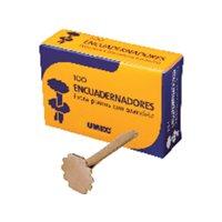 UMEC Encuadernadores con Arandela Caja 100 Ud 18 mm U300901, (1 u.)
