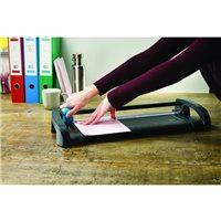DAHLE Cizallas de rodillo Office trimmer A4 Capacidad 12 hojas 477X232X82 1,3 Kg A4TR, (1 u.)