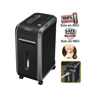 FELLOWES Destructora 99Ci 34L Corte en particula 4x38mm Capacidad 16h. 4691001, (1 u.)