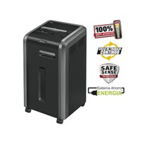FELLOWES Destructora 225Ci 60L partículas 4x38 mm Capacidad 19h. 450x450x810 mm 4622001, (1 u.)