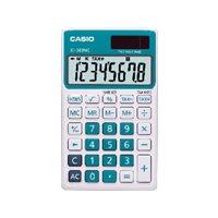 CASIO Calculadora de bolsillo SL-300 NC 8 digitos Azul Solar /pilas SL-300NC AZ, (1 u.)