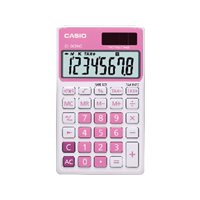 CASIO Calculadora de bolsillo SL-300 NC 8 digitos Rosa SL-300NC RS, (1 u.)
