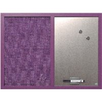 BI-OFFICE Tablero Tapizado 45x60 cm lavanda MX04330608, (1 u.)