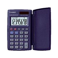 CASIO Calculadora 8 digitos Solar /pilas HS-8VER, (1 u.)