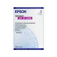 EPSON Papel fotografico C13SO41068 Paquete 100 hojas A3 102 G Mate C13S041068, (1 u.)