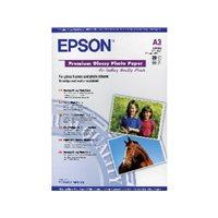 EPSON Papel fotografico C13SO41315 Paquete 20 hojas A3 Brillo C13S041315, (1 u.)