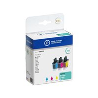 PELIKAN Cartuchos Inyeccion Tricolor Brother LC-900 Tricolor Pack de 3 Com 4183743, (1 u.)
