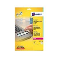 AVERY Etiquetas laser Caja 20 hojas 800 ud 45,7x25,4 mm L6145-20, (1 u.)