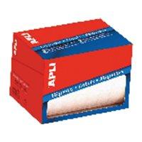 APLI Etiquetas en rollo 1500 ud 20x50 mm Blancas 1686, (1 u.)