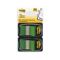 POST-IT Indices adhesivos Index Dispensador 50 ud 25,4x43,1 Verde 70071392776, (12 u.)