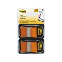 POST-IT Indices adhesivos Index Dispensador 50 ud 25,4x43,1  Naranja 70071392826, (12 u.)