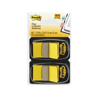 POST-IT Indices adhesivos Index Dispensador 50 ud 25,4x43,1  Amarillo 70071392834, (12 u.)
