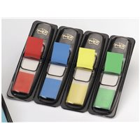 POST-IT Indices adhesivos Index Dispensador 35 ud 12X43,1 Colores surtidos 70071353570, (6 u.)