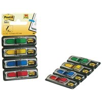 POST-IT Indices adhesivos Index flechas Dispensador 20 u 12X43,1 Colores surtidos 70071353604, (6 u.)