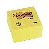POST-IT Cubo notas adhesivas 450h Amarillo 76x76mm FT510018763, (1 u.)