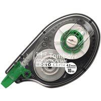 TOMBOW Cinta correctora Mono CT-YT4 Aplicación lateral 4,2 mm x 10 m Transparente  CT-YT4-20, (20 u.)