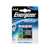 ENERGIZER Pilas Litio Pack 4 ud. AAA LR03 635233, (1 u.)