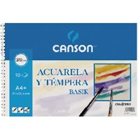 GUARRO CANSON Papel dibujo 6 Hojas 24x32 cm 370 Gr 200406347, (20 u.)