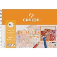 CANSON Bloc Dibujo Basik 20 Hojas 23x32,5 cm 130 Gr 200409580, (10 u.)