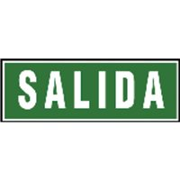 ARCHIVO 2000 Placa normalizada Pack 2 Ud 297x105 mm Verde   Salida 6170-06VE, (1 u.)