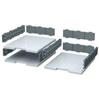EXACOMPTA Módulo Modulodoc Set casillas normales  A4/folio 10 colores distintos en cajones 340740D, (1 u.)
