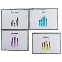 PAPERFLOW Expositor Información 322x237x23 mm Ventana plástico antibrillo 4066X435, (1 u.)