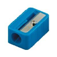 FAIBO Afilalapiz Azul, rojo verde o amarillo Rectangular Plastico P02, (24 u.)
