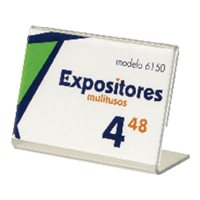 ARCHIVO 2000 Expositor portaprecios 33 x 90 x 63 mm. 6150CSTP, (1 u.)