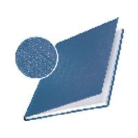 LEITZ Cubiertas encuadernación Impressbind Caja 10 ud Azul A4 Lino 73970035, (1 u.)