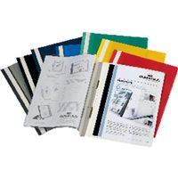 DURABLE Dossiers Duraplus A4 Fastener metalico Negro PVC 2579-01, (25 u.)