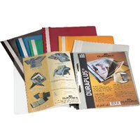 DURABLE Dossiers Duraplus A4 Fastener metalico Blanco PVC 2579-02, (25 u.)