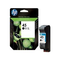 HP Cartuchos Inyeccion 45 Negro  51645AE, (1 u.)