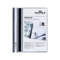 DURABLE Dossiers Duraplus A4 Fastener metalico Rojo PVC 2579-03, (25 u.)