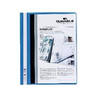 DURABLE Dossiers Duraplus A4 Fastener metalico Azul PVC 2579-06, (25 u.)